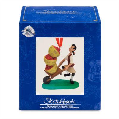Johnny Appleseed - Sketchbook-Dekorationsstück-Kollektion