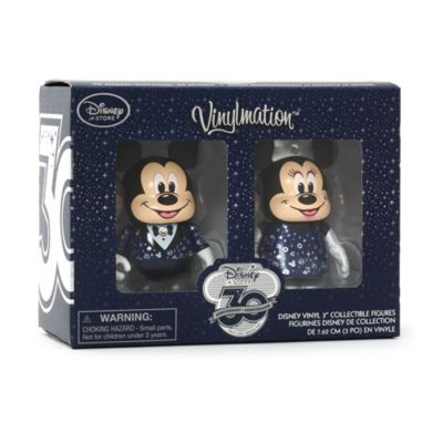 Personaggi in vinile di Topolino e Minni 30° Anniversario Disney Store