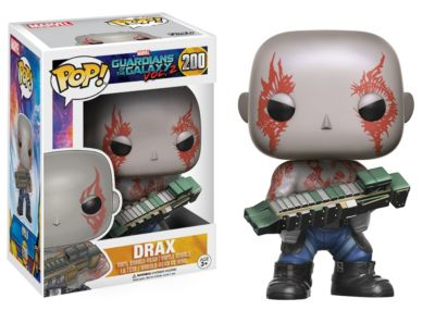 Drax Pop! Vinylfigur von Funko, Guardians of the Galaxy Vol. 2