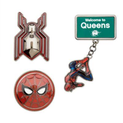 Set de tres pins de edición limitada de Spider-Man Homecoming