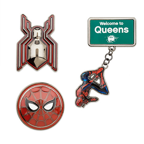 Spider-Man Homecoming Limited edition-pins, set med 3