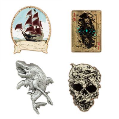 Ensemble de4pin's en édition limitée, Pirates des Caraïbes: La Vengeance de Salazar