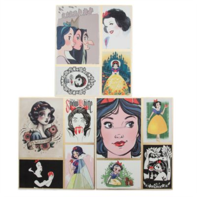 Art of Snow White Biancaneve, 5 litografie in edizione limitata
