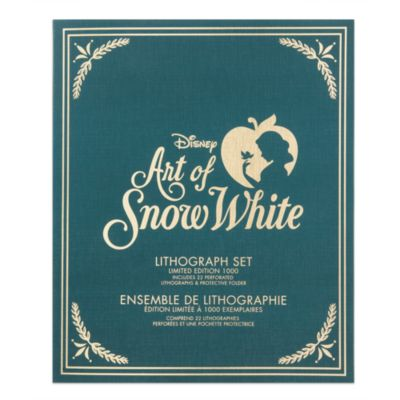 Ensemble de 5 lithographies en édition limitée, Art of Snow White