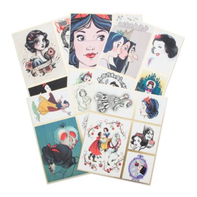 Art of Snow White Limited Edition Lithographs, Set of 5