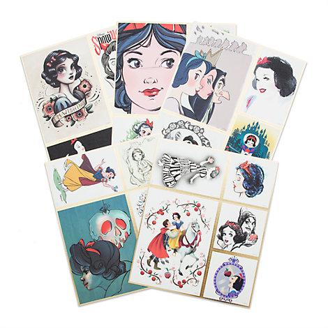 Ensemble de 5lithographies en édition limitée, Art of Snow White