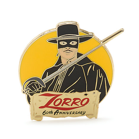 Zorro 60-års jubilæumsnål, begrænset antal