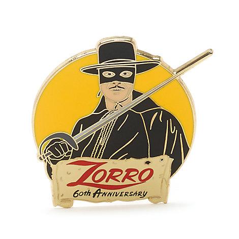 Pin de edición limitada del 60.º aniversario del Zorro