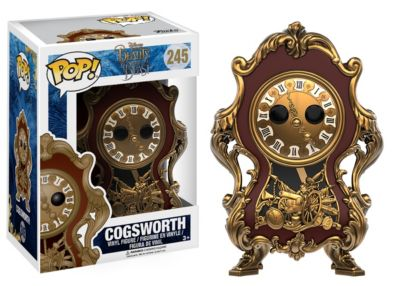 Cogsworth Pop! Vinyl Figure by Funko, Beauty And The Beast