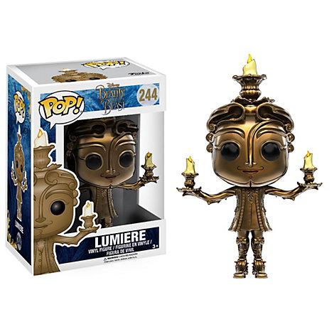 Lumière Pop! Figurine en vinyle par Funko, la Belle et la Bête