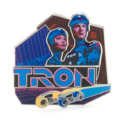Tron - Lichtrad - 35.Geburtstag - Anstecknadel in limitierter Edition