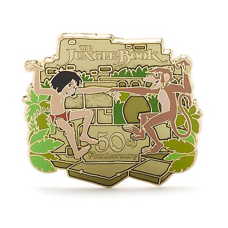 Pin de edición limitada del 50.º aniversario de El Libro de la Selva