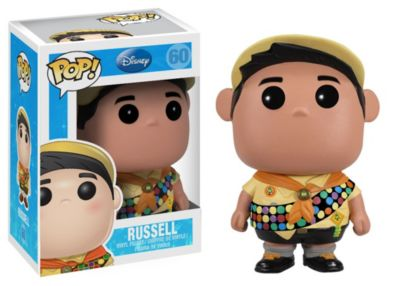 Personaggio in vinile Pop! di Funko Russell, UP!