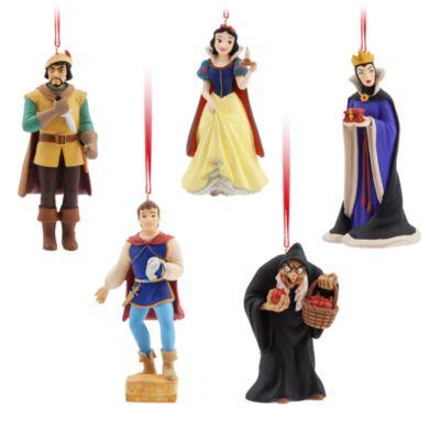 Art of Snow White pynt til ophæng, sæt med 13 stk., begrænset antal
