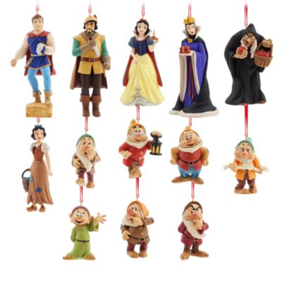 Art of Snow White Limited Edition Hanging Ornaments, Set of 13