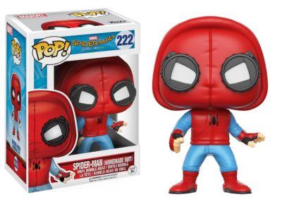 Pop! de Spider-Man con traje emblemático Figura de vinilo de Funko; Spider-Man Homecoming