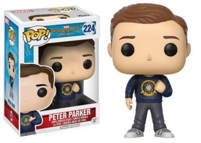 Peter Parker Pop!- figur av vinyl från Funko, Spider-Man: Homecoming