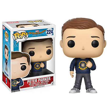 Peter Parker Pop! Vinyl Figure by Funko, Spider-Man: Homecoming
