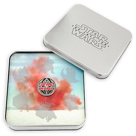 Scatola di metallo da collezionista per spillette Star Wars: Gli Ultimi Jedi in edizione limitata
