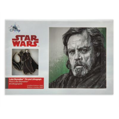 Limited Edition Luke Skywalker Pin and Lithograph