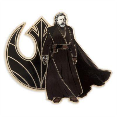 Luke Skywalker - Anstecknadel und Kunstdruck in limitierter Edition