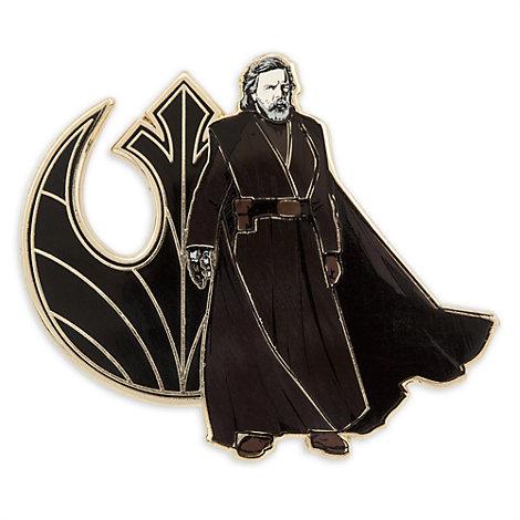 Pin's et lithographie Luke Skywalker en édition limitée