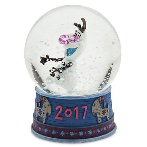 Olaf taut auf - Olafs Schneekugel