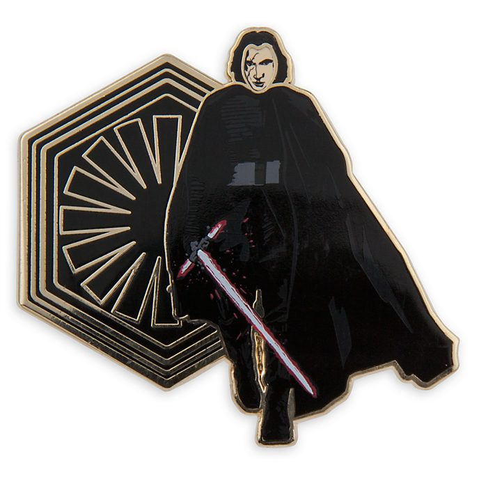Limited Edition Kylo Ren Pin and Lithograph