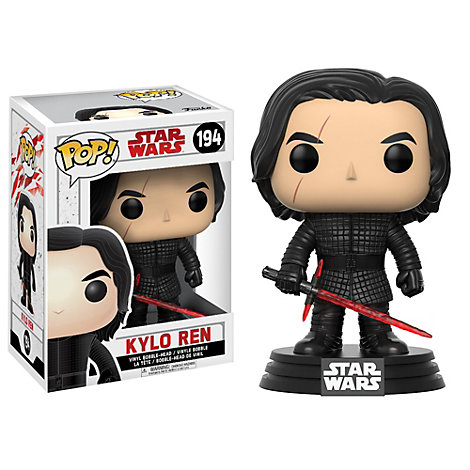 Kylo Ren Pop! Vinyl Figure by Funko, Star Wars: The Last Jedi