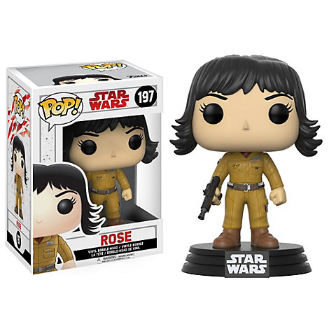Personaggio in vinile Rose serie Pop! di Funko, Star Wars: Gli Ultimi Jedi
