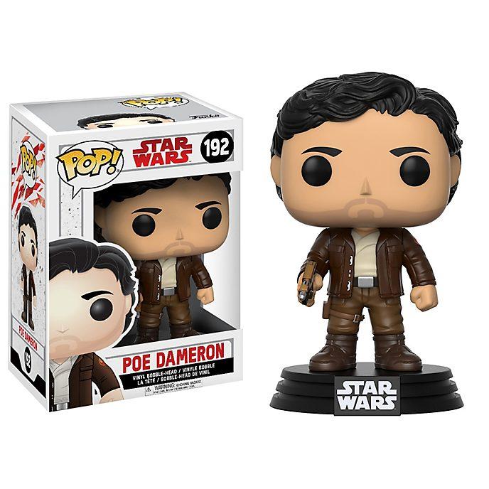 Figurine Funko Pop! Poe Dameron en vinyle, Star Wars: Les Derniers Jedi