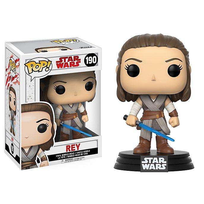 Personaggio in vinile Rey serie Pop! di Funko, Star Wars: Gli Ultimi Jedi