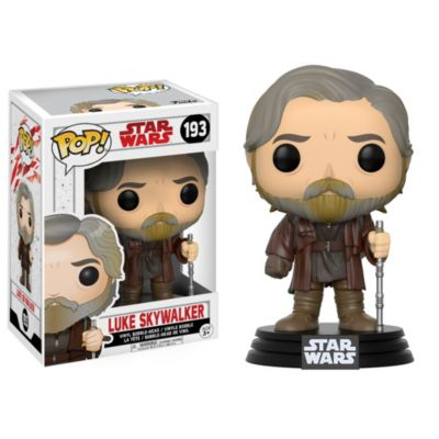 Figura Pop! de Luke Skywalker, de Funko, Star Wars: Los Últimos Jedi