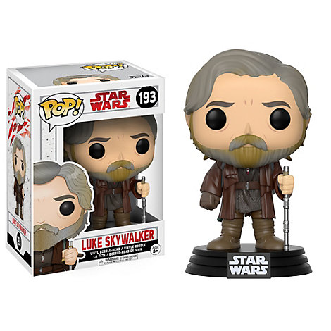 Luke Skywalker Pop! figur fra Funko, Star Wars: The Last Jedi