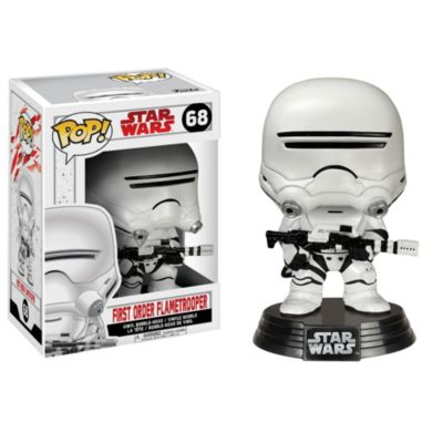 Flametrooper Pop! Vinylfigur från Funko, Star Wars: The Last Jedi