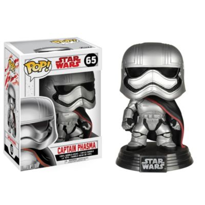 Personaggio in vinile Capitano Phasma serie Pop! di Funko, Star Wars: Gli Ultimi Jedi