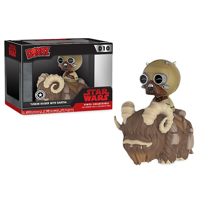 Tusken Raider with Bantha Dorbz Vinyl Figure by Funko