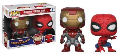 Iron Man und Spider-Man Pop! Vinylfiguren von Funko