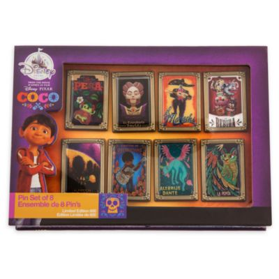 Limited Edition Disney Pixar Coco Pin Set