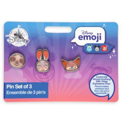 Spillette emoji Zootropolis, set di 3
