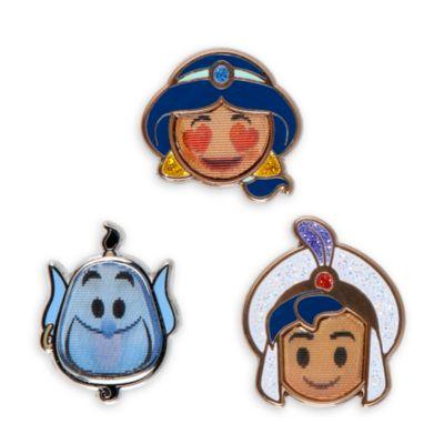 Emoji nålesæt fra Aladdin, sæt med 3 stk.