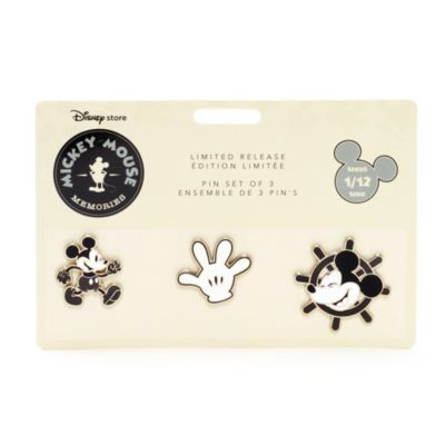 Mickey Mouse Memories Pin Set, 1 of 12