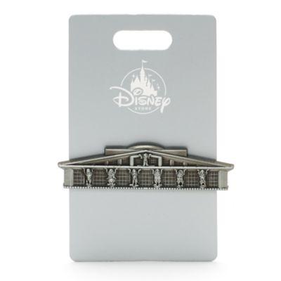Team Disney nål med Seven Dwarfs bygningen