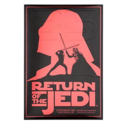 Set litografie 35° anniversario Star Wars: IL Ritorno dello Jedi