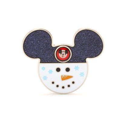 Mickey Mouse Snowman Pin