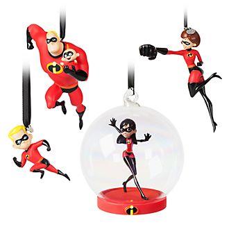 Disney Store - Die Unglaublichen2 - The Incredibles2 - 4xDekorationsstücke zum Aufhängen