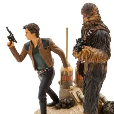 Han Solo and Chewbacca Limited Edition Figurine