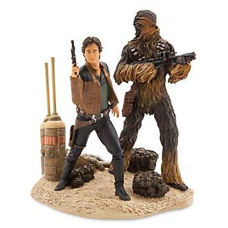 Han Solo und Chewbacca - Actionfiguren in limitierter Edition