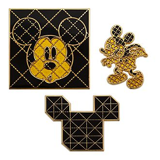 Juego de pins Mickey Mouse Memories, Disney Store (8 de 12)