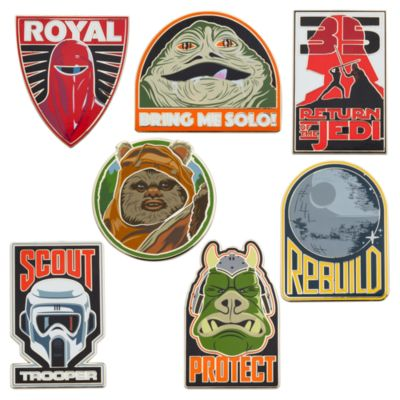 Pin misterioso Star Wars: El retorno del Jedi